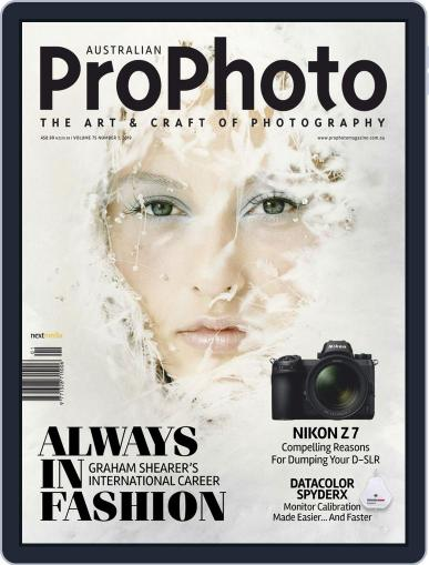 Pro Photo (Digital) March 1st, 2019 Issue Cover