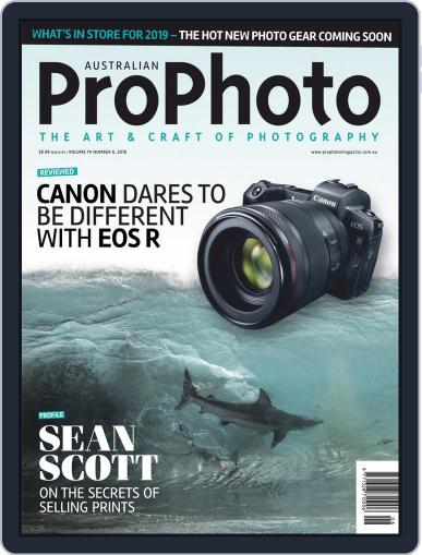 Pro Photo (Digital) December 1st, 2018 Issue Cover