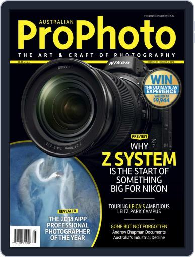 Pro Photo (Digital) October 1st, 2018 Issue Cover
