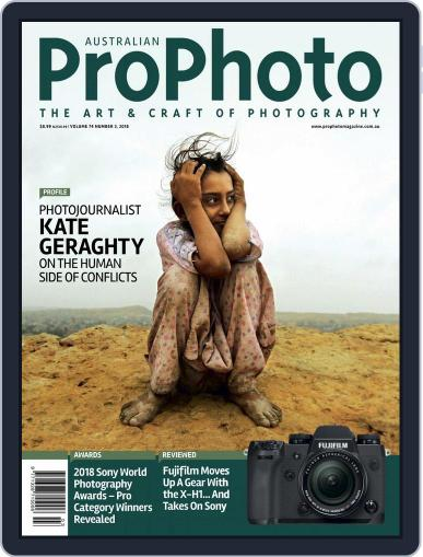 Pro Photo (Digital) May 1st, 2018 Issue Cover