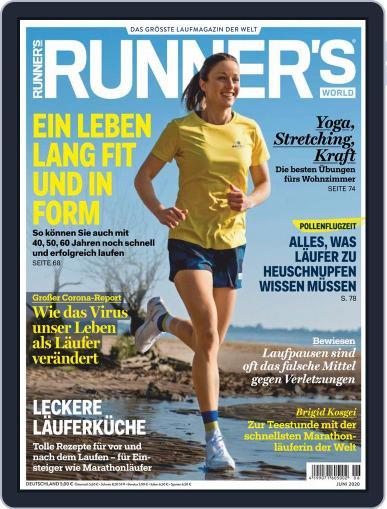 Runner's World Deutschland (Digital) June 1st, 2020 Issue Cover