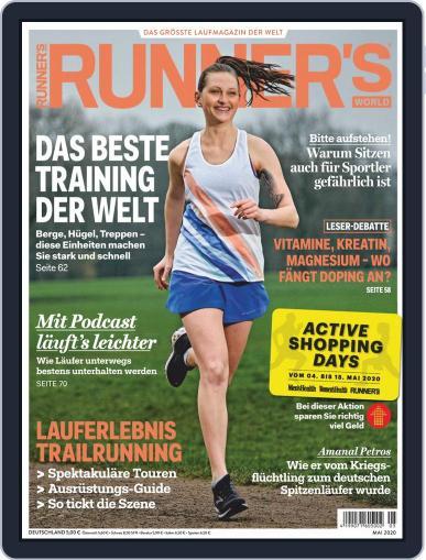 Runner's World Deutschland May 1st, 2020 Digital Back Issue Cover