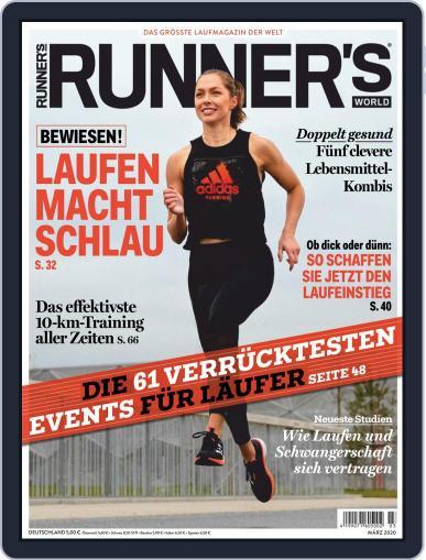 Runner's World Deutschland March 1st, 2020 Digital Back Issue Cover