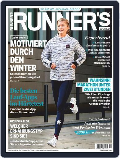 Runner's World Deutschland December 1st, 2019 Digital Back Issue Cover