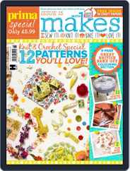Prima Makes Magazine (Digital) Subscription January 1st, 2017 Issue