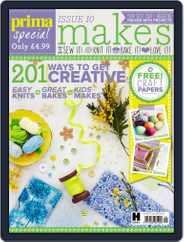 Prima Makes Magazine (Digital) Subscription February 1st, 2016 Issue