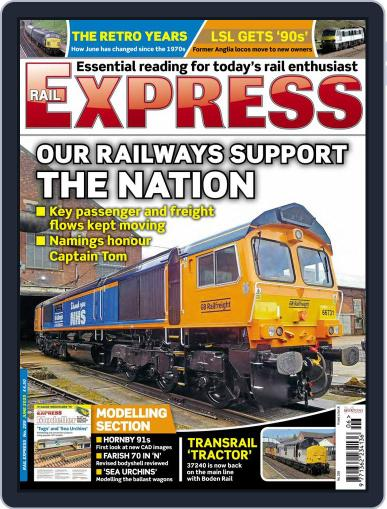 Rail Express (Digital) June 1st, 2020 Issue Cover