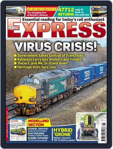 Rail Express (Digital) May 1st, 2020 Issue Cover