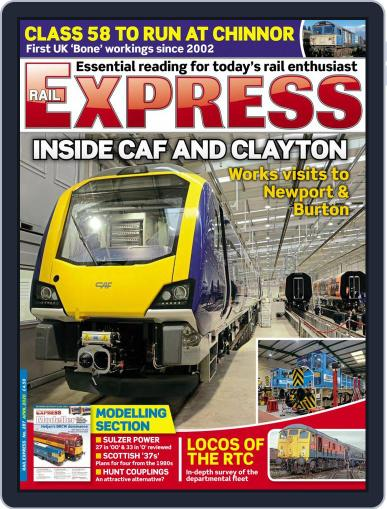 Rail Express (Digital) April 1st, 2020 Issue Cover