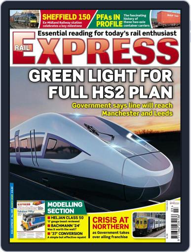 Rail Express (Digital) March 1st, 2020 Issue Cover