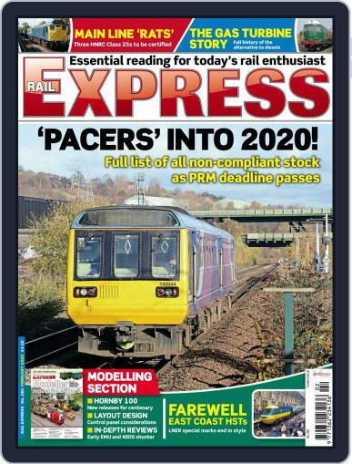 Rail Express (Digital) February 1st, 2020 Issue Cover
