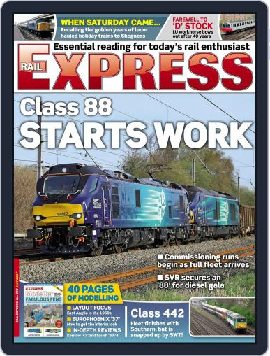 Rail Express (Digital) May 1st, 2017 Issue Cover