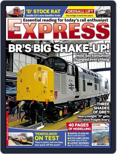 Rail Express (Digital) April 1st, 2017 Issue Cover