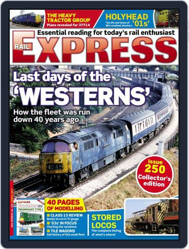Rail Express (Digital) March 1st, 2017 Issue Cover