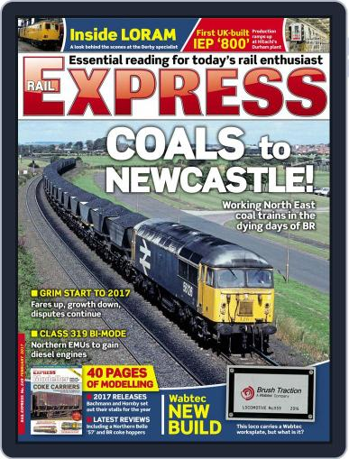 Rail Express (Digital) February 1st, 2017 Issue Cover