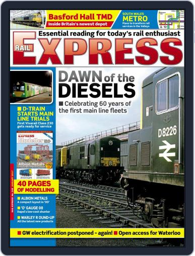 Rail Express (Digital) January 1st, 2017 Issue Cover