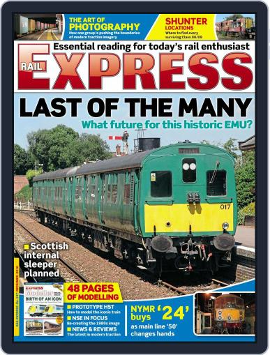 Rail Express (Digital) December 1st, 2016 Issue Cover