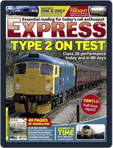 Rail Express (Digital) November 1st, 2016 Issue Cover