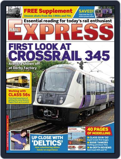 Rail Express (Digital) August 15th, 2016 Issue Cover