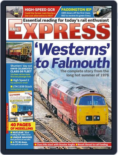 Rail Express (Digital) July 18th, 2016 Issue Cover