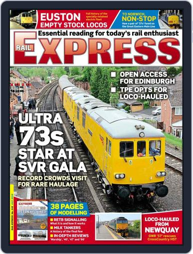 Rail Express (Digital) June 13th, 2016 Issue Cover