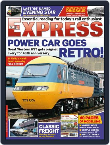 Rail Express (Digital) May 17th, 2016 Issue Cover