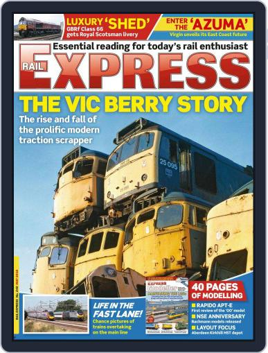 Rail Express (Digital) April 19th, 2016 Issue Cover
