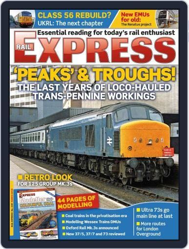 Rail Express (Digital) February 17th, 2016 Issue Cover