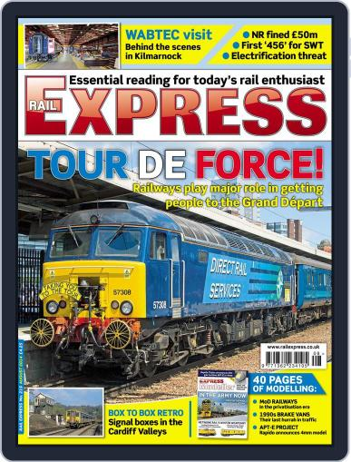 Rail Express (Digital) July 15th, 2014 Issue Cover