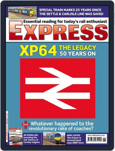 Rail Express (Digital) May 13th, 2014 Issue Cover