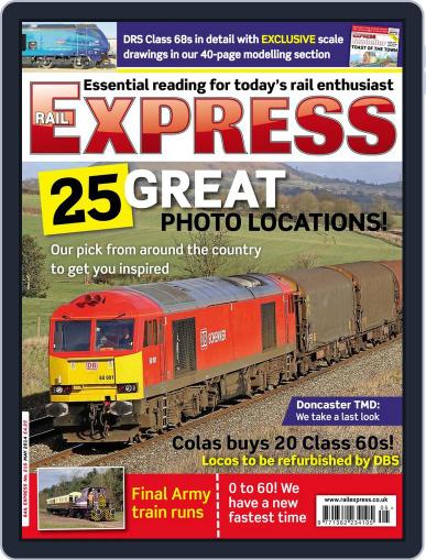 Rail Express (Digital) April 15th, 2014 Issue Cover