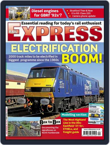 Rail Express (Digital) March 18th, 2014 Issue Cover
