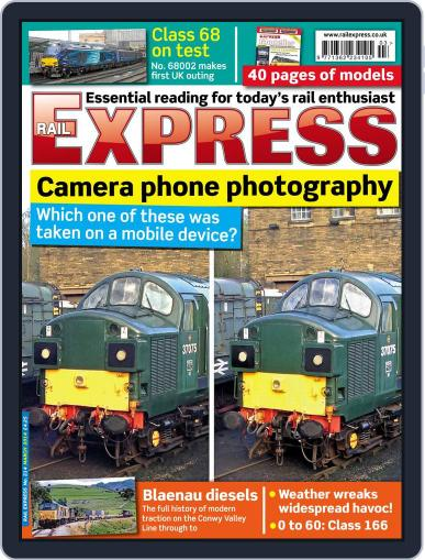 Rail Express (Digital) February 18th, 2014 Issue Cover