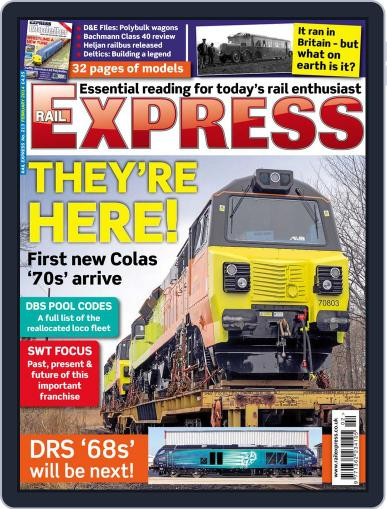 Rail Express (Digital) January 15th, 2014 Issue Cover