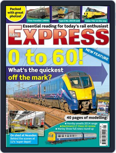 Rail Express (Digital) December 18th, 2013 Issue Cover