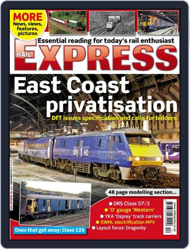 Rail Express (Digital) November 19th, 2013 Issue Cover