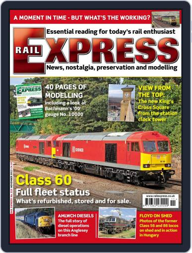 Rail Express (Digital) October 15th, 2013 Issue Cover