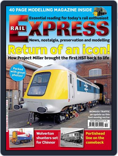 Rail Express (Digital) September 17th, 2013 Issue Cover