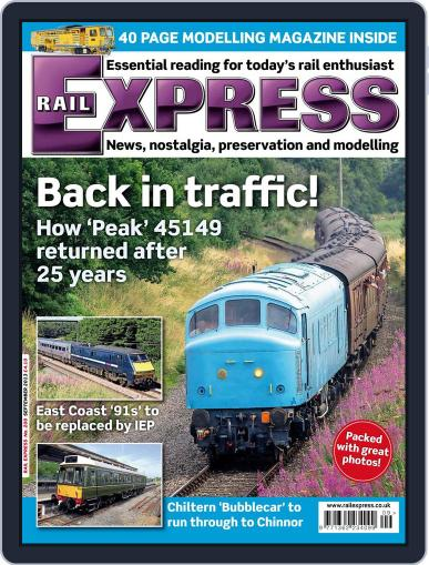 Rail Express (Digital) August 13th, 2013 Issue Cover