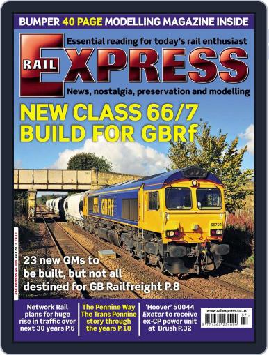 Rail Express (Digital) June 18th, 2013 Issue Cover