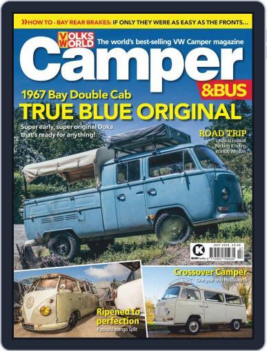 VW Camper & Bus July 1st, 2020 Digital Back Issue Cover
