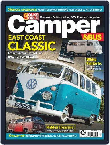 VW Camper & Bus May 1st, 2020 Digital Back Issue Cover