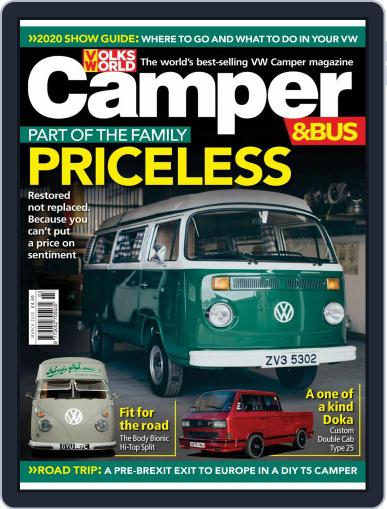 VW Camper & Bus (Digital) March 1st, 2020 Issue Cover