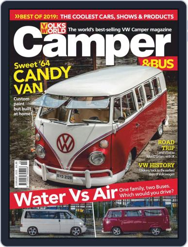VW Camper & Bus (Digital) February 1st, 2020 Issue Cover