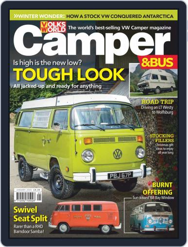 VW Camper & Bus January 1st, 2020 Digital Back Issue Cover