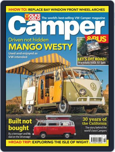 VW Camper & Bus (Digital) October 1st, 2019 Issue Cover