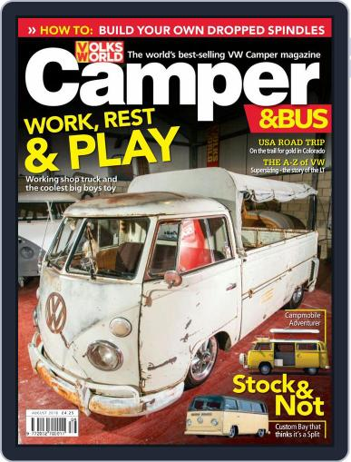 VW Camper & Bus August 1st, 2018 Digital Back Issue Cover