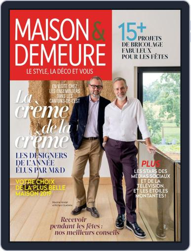 Maison & Demeure (Digital) December 1st, 2019 Issue Cover
