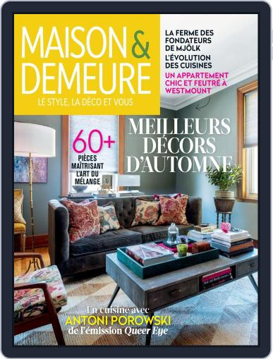 Maison & Demeure (Digital) October 1st, 2019 Issue Cover