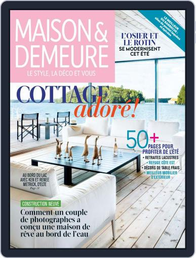 Maison & Demeure (Digital) July 1st, 2019 Issue Cover